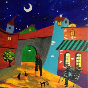 el pueblo peinture le zèbre