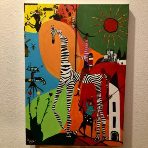 don quichotte peinture le zebre